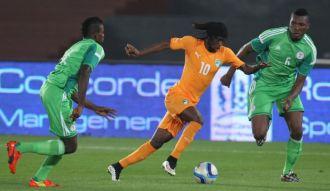 nigeria ivory coast cote d'voire football