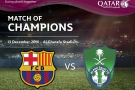QATAR AIRWAYS LAUNCHES ULTIMATE FOOTBALL FAN COMPETITON TO WIN TICKETS TO THE QATAR AIRWAYS MATCH OF CHAMPIONS