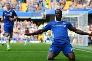 Victor Moses Scores First EPL Goal Of The Season As Chelsea Demolish Brighton (Watch Highlights)