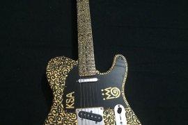 King Sunny Ade's Fender Guitar