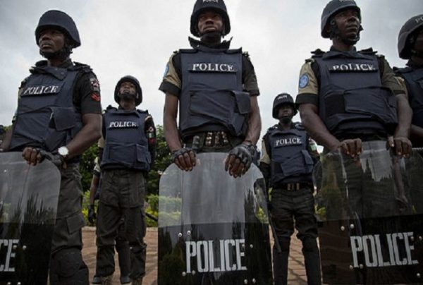 Image result for photos of Police officers at ekiti state during a recent murder case