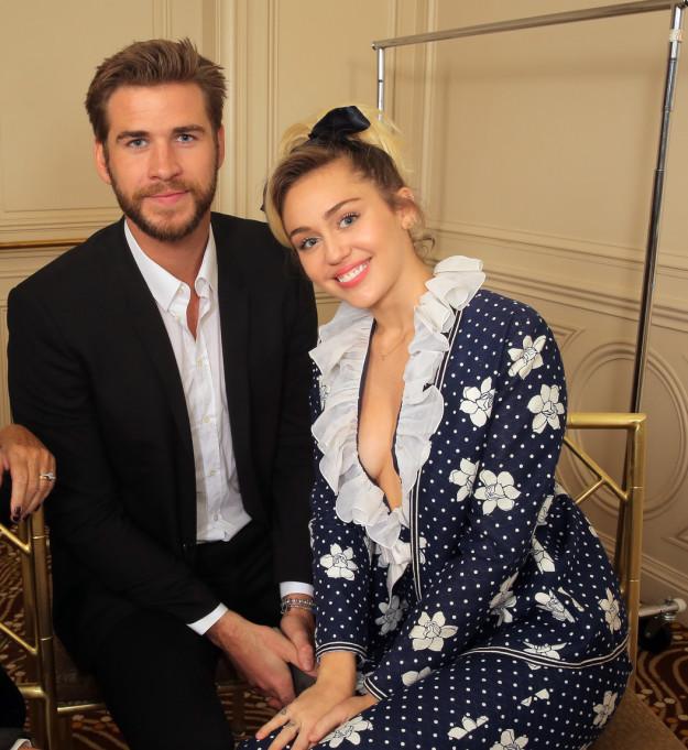 Miley Cyrus  Chris Hemsworth