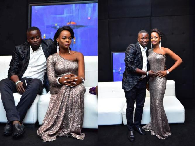 Olajumoke and her husband Sunday Orisaguna e1489400727706 side - Twitter reacts to former bread seller Olajumoke Orisaguna relationship crisis