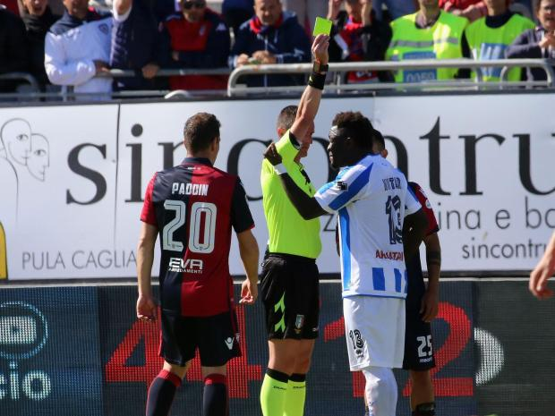Anger as Muntari is banned for standing up to racism