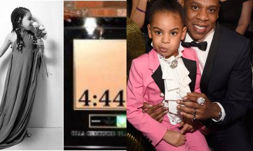 Five-Year-Old Blue Ivy Featured On Father Jay-Z's New Album