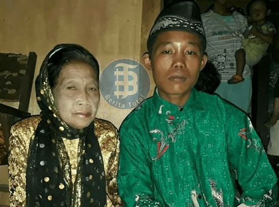 Woman, 71, marries her 16-year-old toy boy in Indonesia