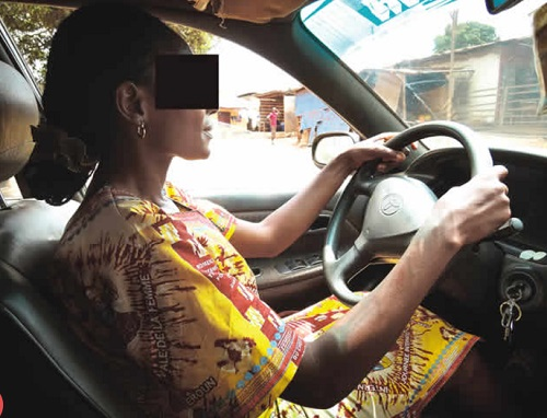 female taxi driver 2 - My Female Uber Driver has an Msc – Social media influencer