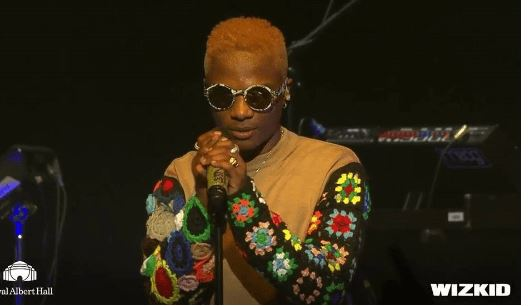 Image result for wizkid royal albert hall