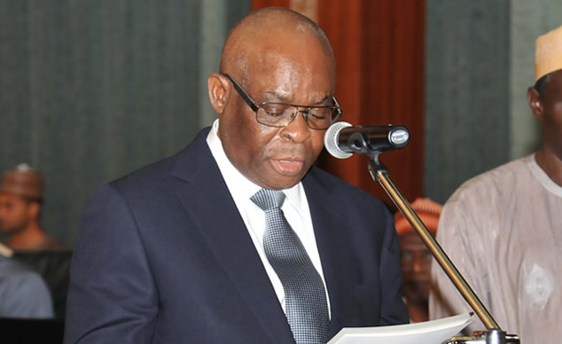 Justice Walter Onnoghen2 - Code of conduct Resumes Justice Onnoghen Trial