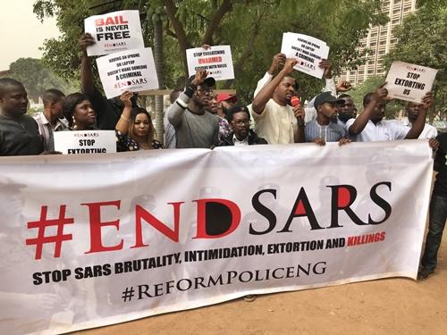 EndSARS campaign 1 - Breaking: Police arrest SARS team responsible for shooting of Kolade Johnson