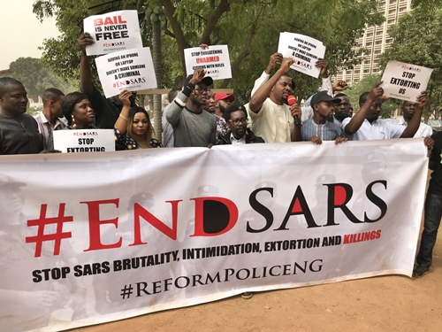 EndSARS campaign 1 - Breaking: Police arrest SARS team responsible for shooting of Kolade Johnson