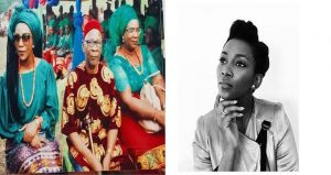 gv3 300x159 - Genevieve Nnaji pictured With Dad and mom In Imo State (Photographs)