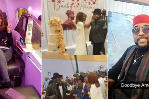 BankyW and Adesua Etomi celebrate their wedding with a big thanksgiving and reception party in London (Photos)