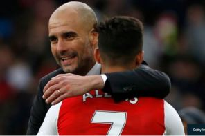 Guardiola Congratulates Alexis On Move to Man Utd