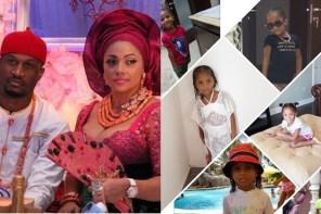 Peter Okoye's Wife, Lola Celebrates Their Daughter As She Turns 5
