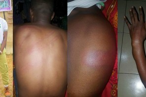 """You are a terrorist and a criminal"" — Police beat up Corper in Delta state"