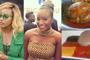 """I can't hangout with someone that doesn't eat Amala"" – DJ Cuppy"