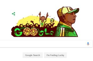 Google Celebrates Nigerian Football Legend, Stephen Keshi's Birthday With A Doodle (photos)