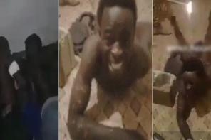 Disturbing videos allegedly showing African slaves being tortured in Libya