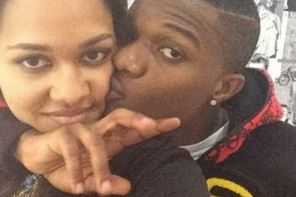 Wizkid & His Ex-Girlfriend Tania Omotayo Party In London Together (Photos)