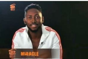 #BBNaija: Miracle Wins Week 4 Head Of House Challenge