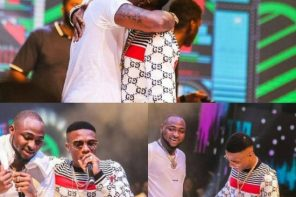 """Davido brings Wizkid out to perform """"Manya"""" at the O2 Academy Brixton in London 