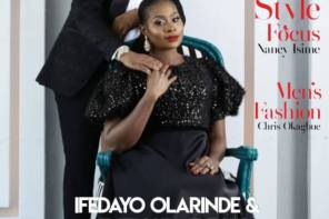 Daddy Freeze & His Fiancee Benedicta Share Their Love Story As They Cover MRH Magazine
