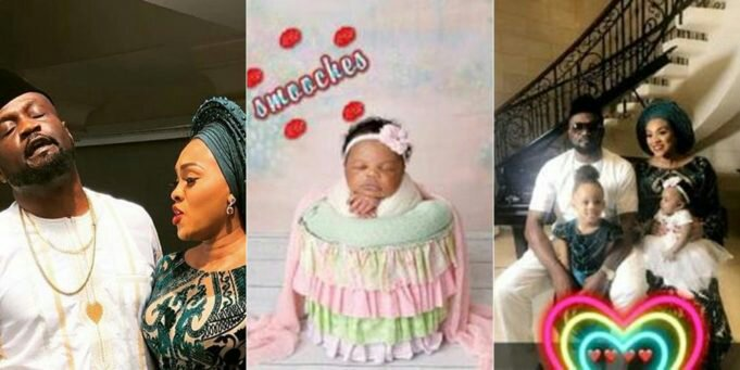 PHOTOS FROM JUDE OKOYE AND WIFE'S DEDICATION OF THEIR SECOND DAUGHTER