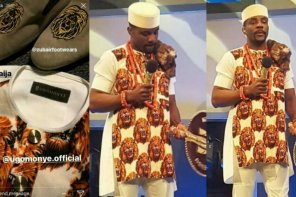 Checkout Ebuka Obi-Uchendu's Isi-Agwu Outfit for the #BBNaija Live Show Tonight