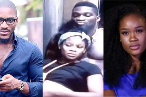 #BBNaija: Tobi Caught Mocking Cee-C During A Conversation (Video)
