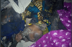 Mother And Her 4 Kids Burnt To Death By Fire Caused By Mosquito Coil (Graphic Photos)