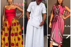 Mo Abudu, Omoni Oboli, Ebuka Obi-Uchendu, Dolapo Oni And More Attend The Black Panther Premiere In Nigeria