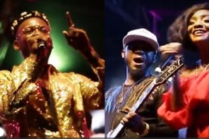 Watch: Simi, Adekunle Gold & Praiz's Performance At 100% Live