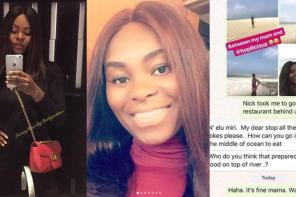 Check out this hilarious chat between a Nigerian mother and her European-based daughter