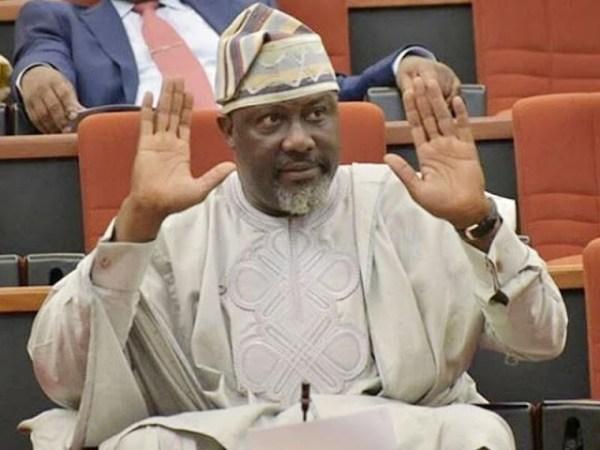 Image result for Senator Dino Melaye Reportedly 'Flees' Nigeria, Warns Saraki