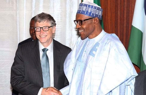 buharis economic plan doesnt reflect needs of nigerians bill gates speaks on visit to nigeria - Bill Gates phones Buhari, says he's happy to be associated with him