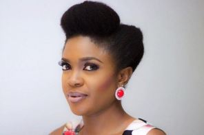 This video of Omoni Oboli eating banga and starch will leave you hungry