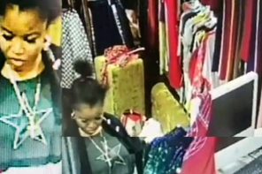 Lady Caught On Camera Stealing N250K At A Lagos Boutique (Video)