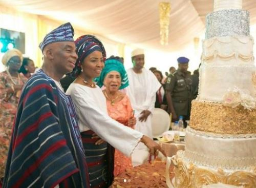 Image result for PHOTOS OF BISHOP OYEDEPO AND WIFE ON THEIR WEDDING DAY