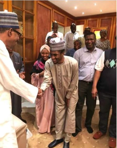 nigerians react over billboards erected to welcome yusuf buhari after treatment from abroad photos - When, Where How??? Nigerians troll the heck out of Yusuf Buhari, after a photo of him wearing NYSC uniform and holding discharge certificate appears