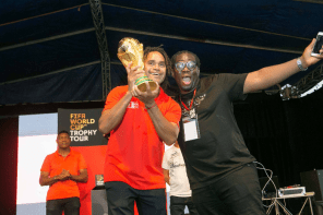 How it went down at the FIFA World Cup Trophy Tour Fan Experience