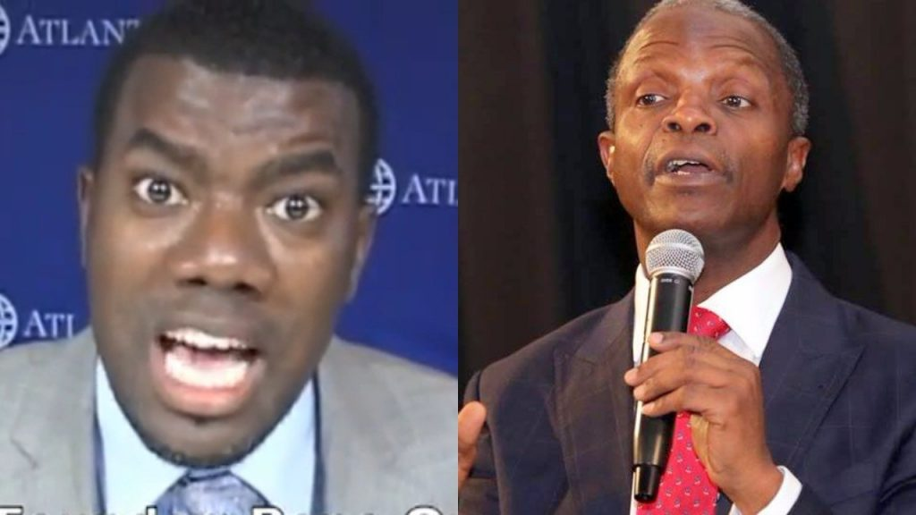 Omokri: Osinbajo spreading lies! Jonathan did not share N150bn before 2015 polls
