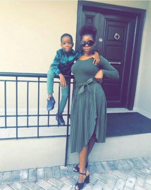 wizkids first baby mama shola ogudu pours encomium on their son as she turns 27 today - Wizkid's babymama, Shola Ogudu is definitely not your regular babymama – See why