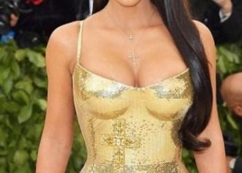 Kim Kardashian Flaunts Body In New Monokini Outfit