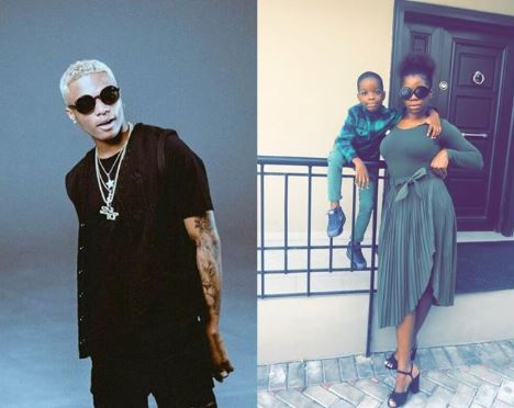 Image result for wizkid and shola