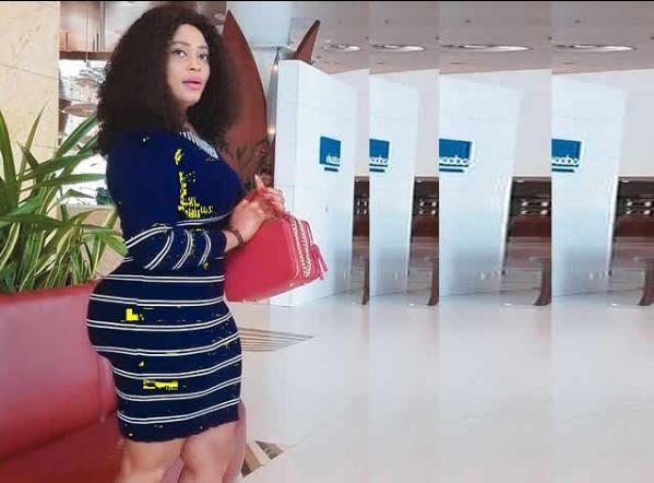 yoruba actress omobutty clears the air on the originality of her backside photos - Yoruba actress Biodun Okeowo 'Omobutty' loses mother