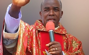 Mbaka Present As Uzodinma Is Sworn-in As Governor