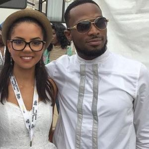 nigerian woman defends dbanjs wife says she should not be blamed over sons death - Sweet! See how singer Dbanj surprised his wife Lineo on Valentine's day