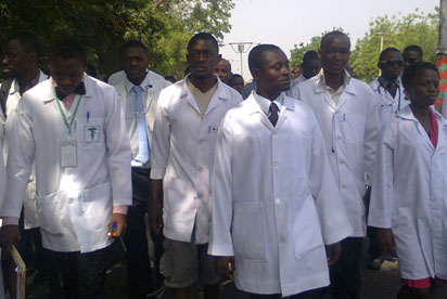 tension mounts as doctors threaten nationwide strike - Nigerian doctors free to leave, we have excess – Minister of Employment