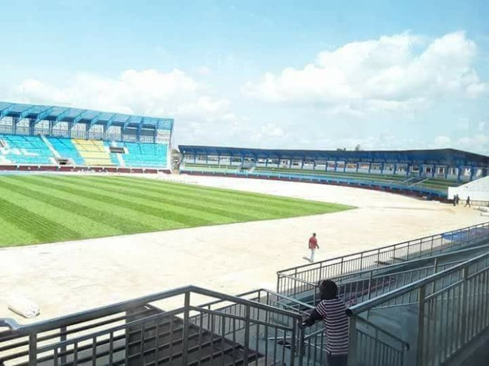 File photo of a Nigerian stadium